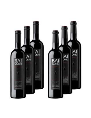 Pack 6 botellas Baigorri...