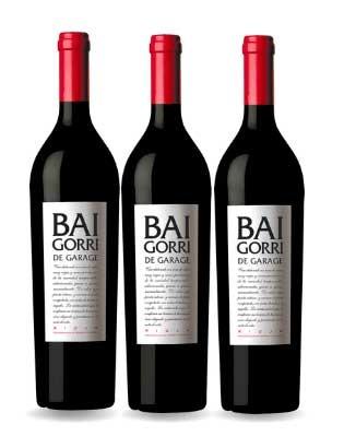 3 Botellas de BAIGORRI de...